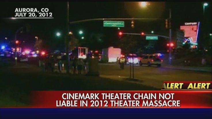 Breaking News: A jury finds the Cinemark movie theater chain is not liable for the 2012 Aurora shooting massacre. http://fxn.ws/1rX1UUq