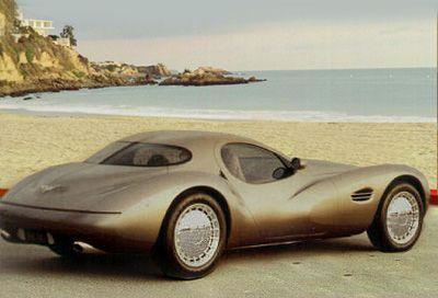 Chrysler Atlantic concept car---cross b/t an old Corvette and an old Buggatti