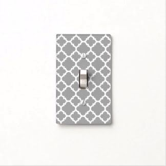 Home painted light switch