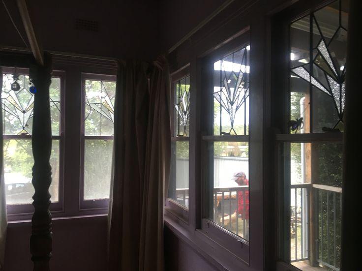 Double aspect Leadlight Windows's