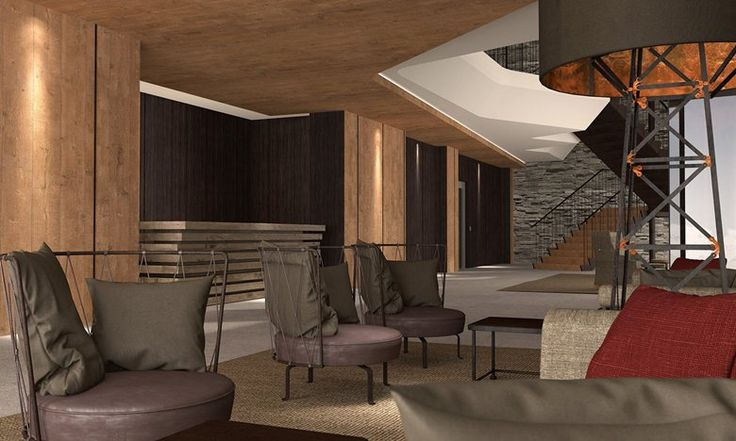 PORTFOLIO STUDIO SIMONETTI: rendering@Grand Hotel Courmayeur Mont Blanc, Courmayeur, 5 star, architectural and interior design project     #montblanccourmayeur #courmayeur #hotelproject #studiosimonetti #hoteldesigner