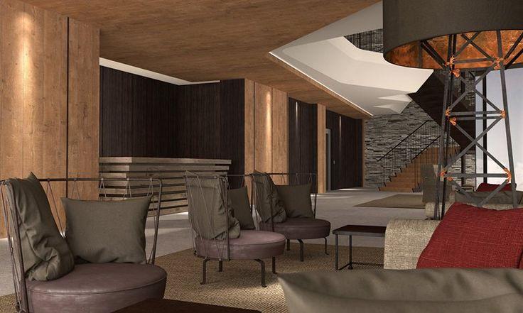 PORTFOLIO STUDIO SIMONETTI: rendering@Grand Hotel Courmayeur Mont Blanc, Courmayeur, 5 star, architectural and interior design project     #montblanccourmayeur #courmayeur #hotelproject #studiosimonetti #hoteldesigner