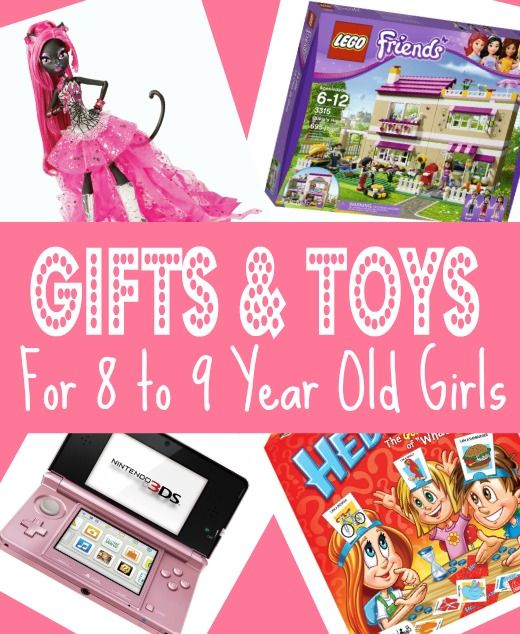 Best Gifts & Toys for 8 Year Old Girls in 2013 - Christmas, Eight Birthday and 8-9 Year Olds