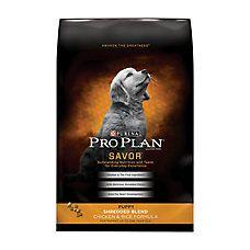 Puppy food: Purina® Pro Plan® Savor