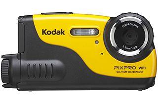Kodak、5m防水/耐衝撃で約15,500円のスポーツカメラ「WP1」。単3電池駆動