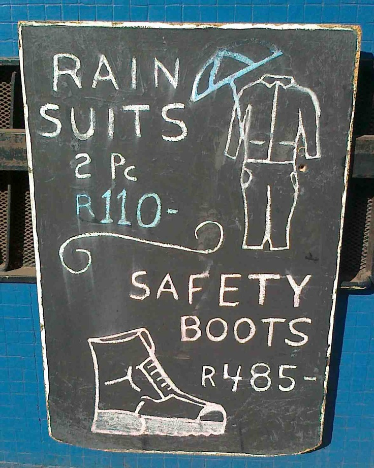 JoziKaroo: Saturday South Africa: Notice art all around you-- hand-lettered signage