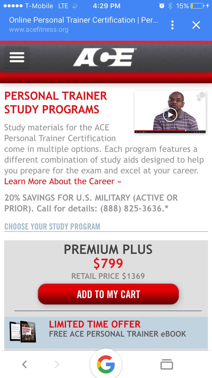 Top Personal Training Certification Fitness Nutrition And Coaching