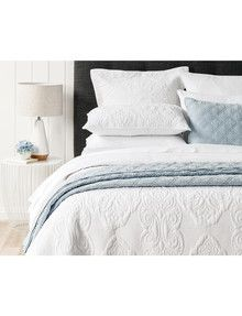 Domani Viola Duvet Cover Set, White product photo
