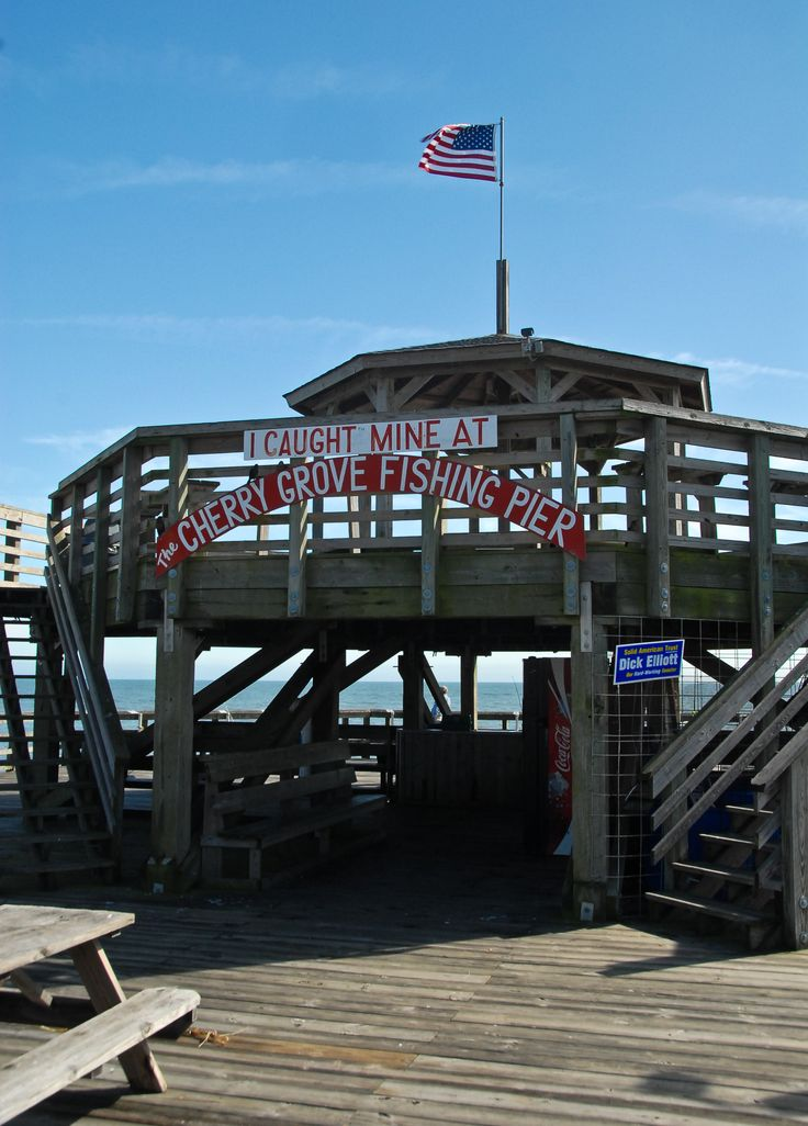 The Cherry Grove Pier in North Myrtle Beach is the perfect place for fishing or other great seaside activities. Plan your next Myrtle Beach family vacation at the Prince Resort to experience all the fun!