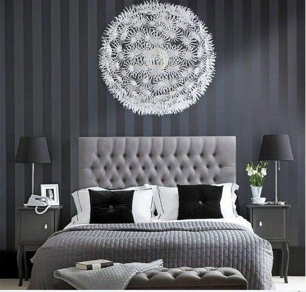 Design : Schlafzimmer Design Schwarz Weiß Schlafzimmer Design ... Schlafzimmer Modern Schwarz