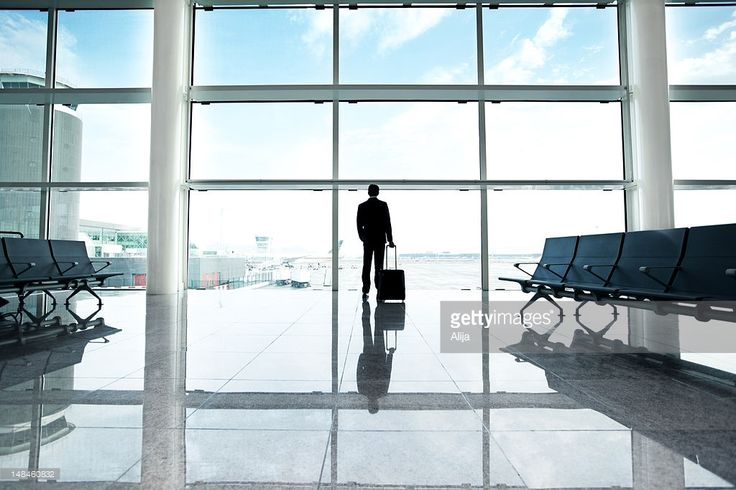 Stock Photo : Businessman in airport