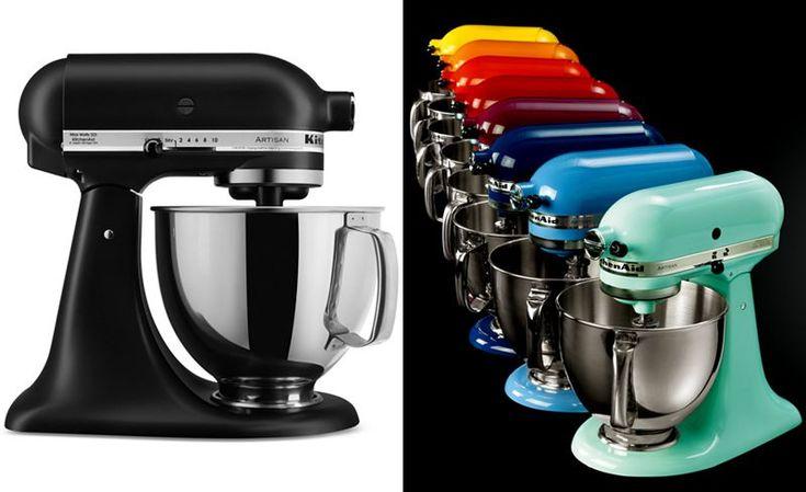 KitchenAid KSM150PS Artisan 5 Qt. Stand Mixer - MATTE BLACK.