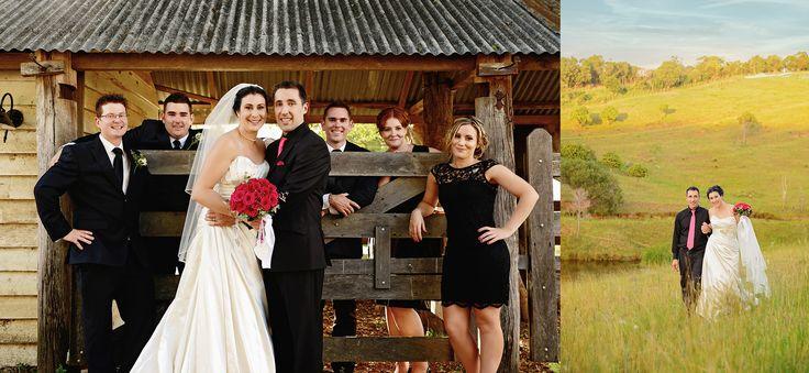 Barn + Bride = Picture perfection