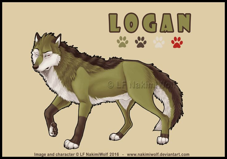 Logan Wolf by NakimiWolf.deviantart.com on @DeviantArt