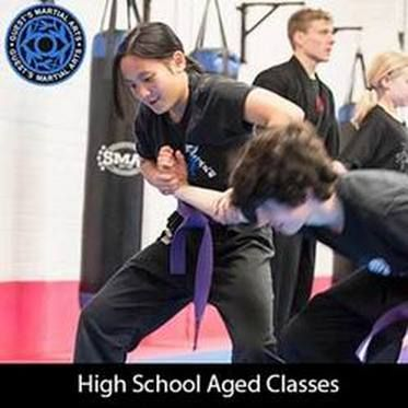 Once students have a bit of experience its important to make sure you are training with different body sizes. You naver know if you will need to apply a technique against someone that is bigger, smaller or the same size, male or female attackers have many forms.   http://www.guestsmartialarts.com.au/teens-martial-arts.html