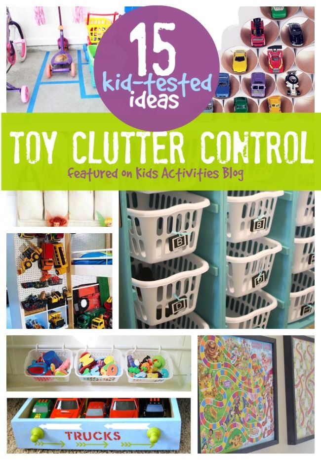 How to Organize Toys - Kids Activities Blog
