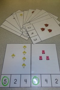 Counting Farm Theme Independent Activity