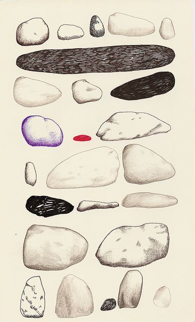 rocks sketchbook