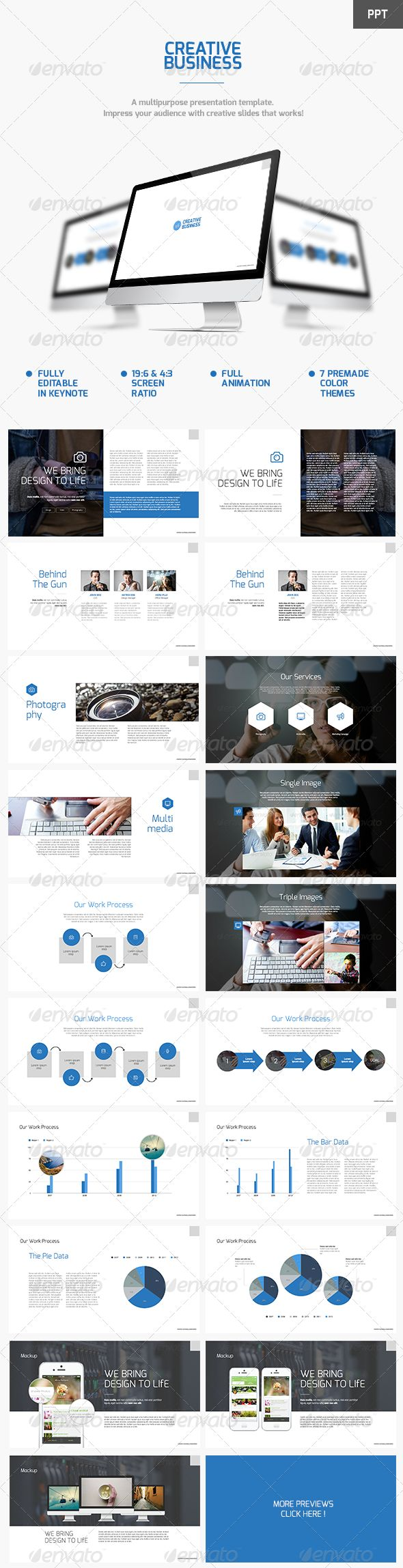 Creative Business Powerpoint Template (Powerpoint Templates) #Powerpoint #Powerpoint_Template #Presentation