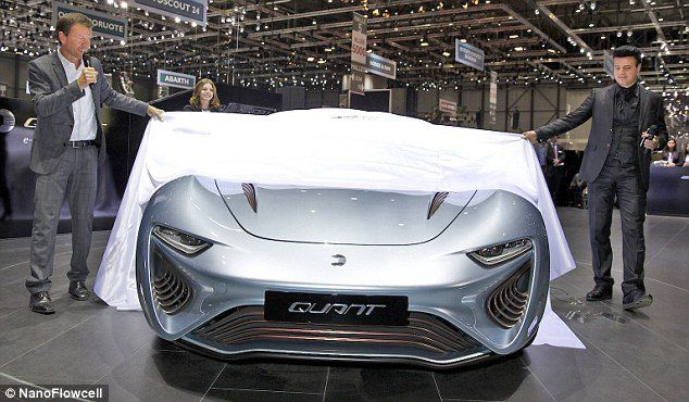 In a breakthrough that is bound to catch the attention of the oil industry and even electric car makers, a company has just gained approval for its 'salt water' powered car in Europe.  A car called the Quant e-Sportlimousine that was presented at the 2014 Geneva Motor Show is the first electric car powered by salt water and is now certified for use on European public roads