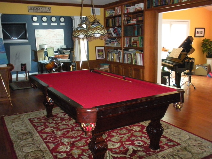 Here Is A House With A Pool Table And Piano Close Together Part 45