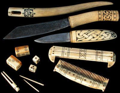 Reproductions of Viking style bone and antler artifacts. For more Viking facts please follow and check out www.vikingfacts.com don't forget to support and follow the original Pinner/creator. Thx