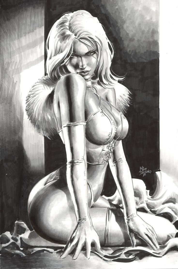 White Queen by Mike Deodato Jr.