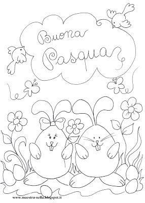 Pasqua Disegni Da Colorare Primavera Pinterest Easter Easter