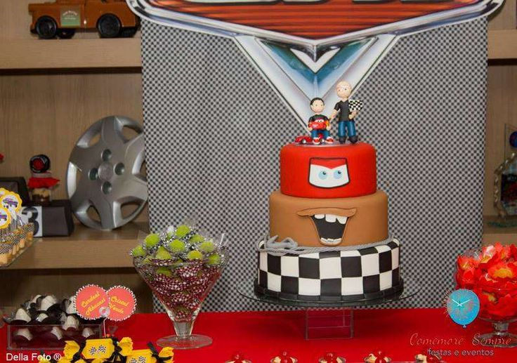 Cars - Disney Birthday Party Ideas | Photo 1 of 49 | Catch My Party
