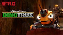"Check out ""Dinotrux"" on Netflix"