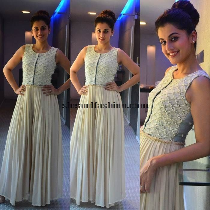 Tapsee Pannu in long gown
