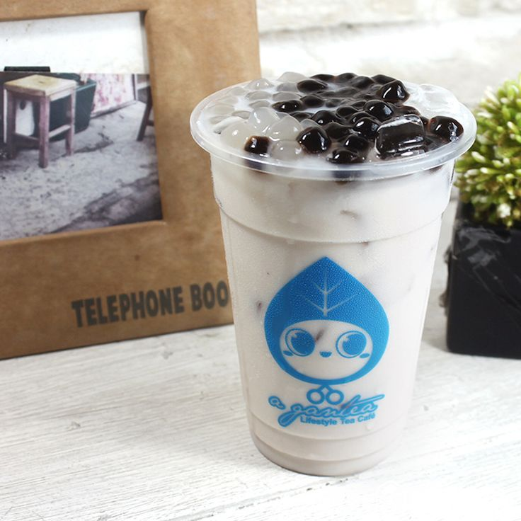 The best part of living in the tropics: It's always the perfect time for a glass of icy-cold @agantea_indo bubble tea 💖 #coconutrewards #agantea 📷 by Vincent Adhy