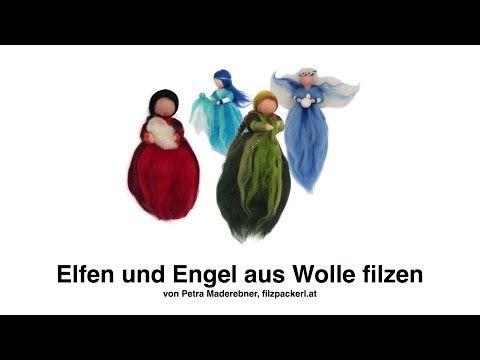 Ausführliche Anleitung zum Filzen von Feen - YouTube