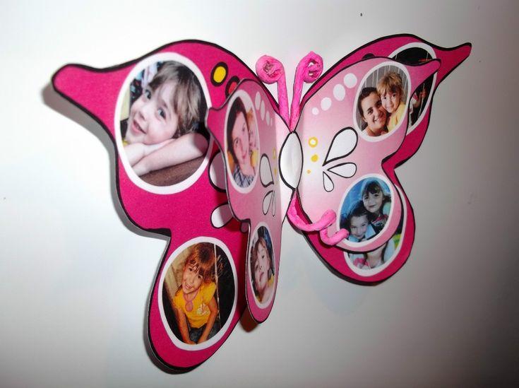 Tarjeta con forma de mariposa on 1001 Consejos  http://www.1001consejos.com/social-gallery/tarjeta-con-forma-de-mariposa