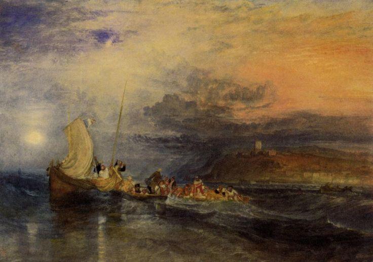 J.M.W.Turner, Folkestone From The Sea