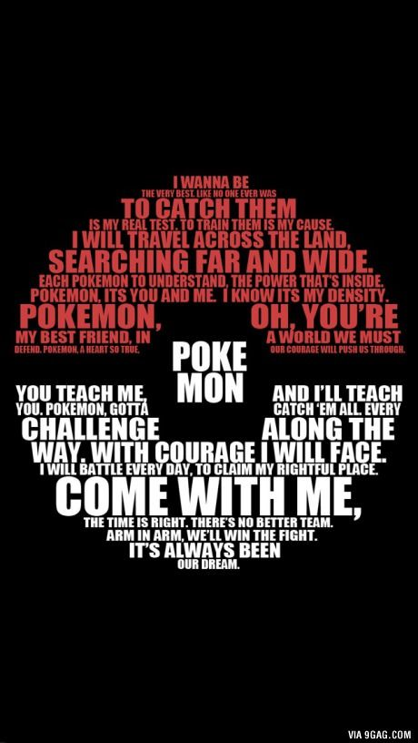 Our favorite childhood song Pokemon!