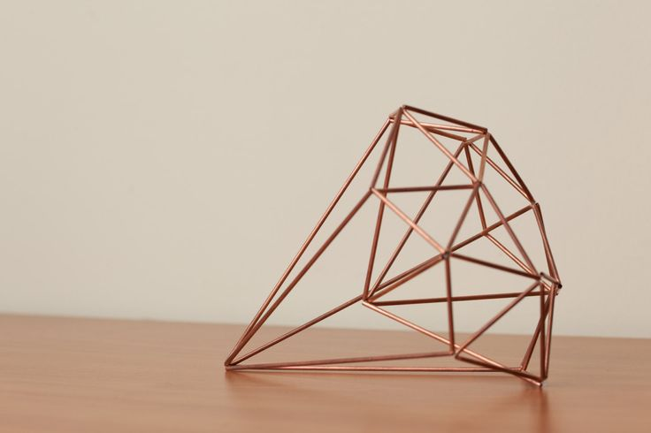 Himmeli Figure 1 The Diamond Sculpture by SpazzHappyLineDesign