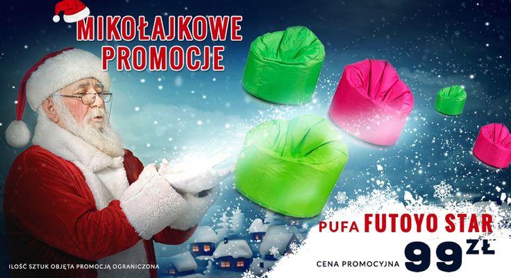 Jeśli szukasz dużego fotela który posiada znaczą ilość miejsca to poszukiwania można uznać za zakończone ponieważ 300 litrowy fotel Futoyo Star zadowoli nawet najbardziej wybrednych. Niesamowity komfort oraz niska cena to jego atuty. Świetny na prezent, a odnośnie prezentów to konkurs trwa. Bierzecie udział ?:)  pufy.pl/fotele/84-futoyo-star.html  #konkurs #star #gwiazda #pufa #pufy #wygoda #mikołaj #prezent #pewnafirma #zaufajnam #profesjonalizm