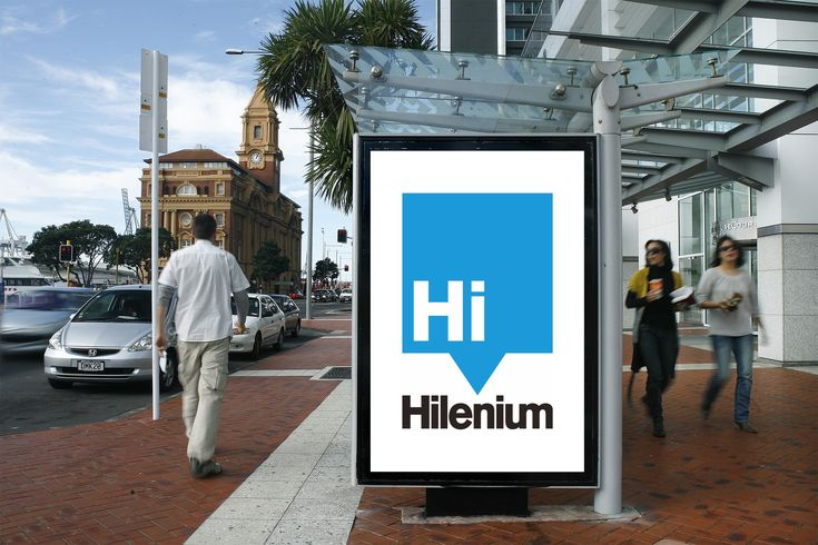 Past Project: Hilenium is a website first hosting provider. Unlike traditional hosts, a fast server is just one part of having a hi-performing website. #logo #branding #design #Hilenium Web design Brisbane by iFactory.