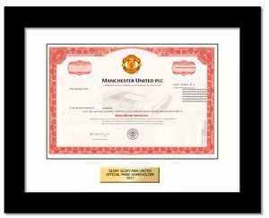 Buy Manchester United stock Gift in 2 Minutes | #1 in Single Shares of Stock