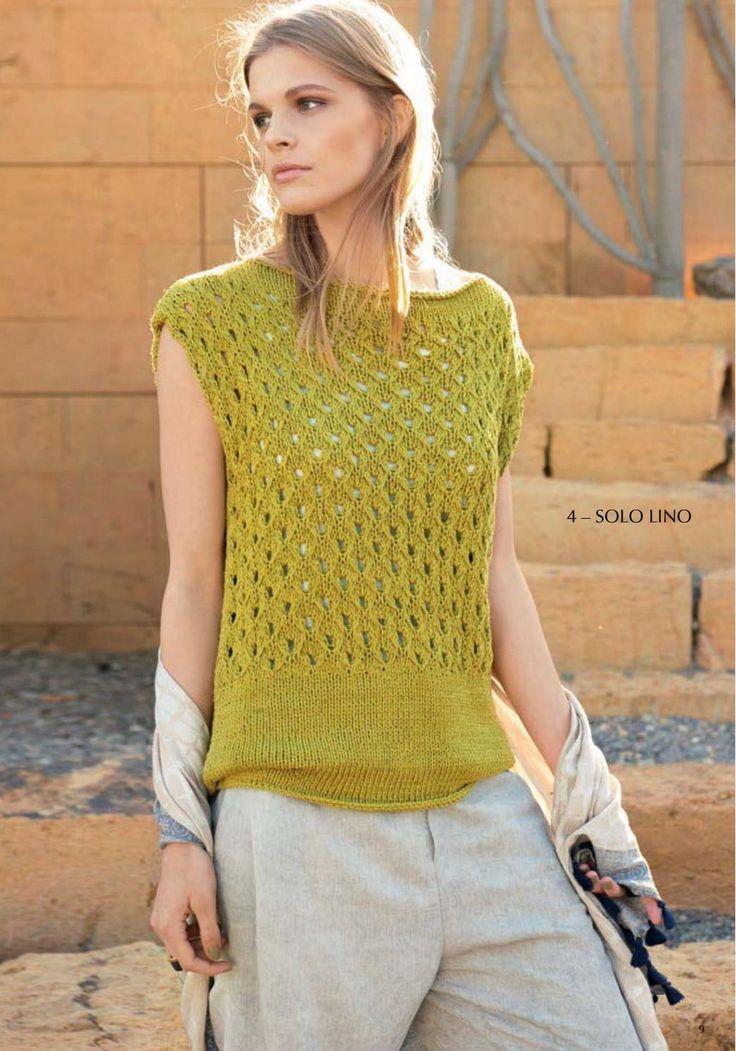 Lana Grossa FILATI Lino No. 1 by FILATI Wolle-Handstrick-Mode - issuu