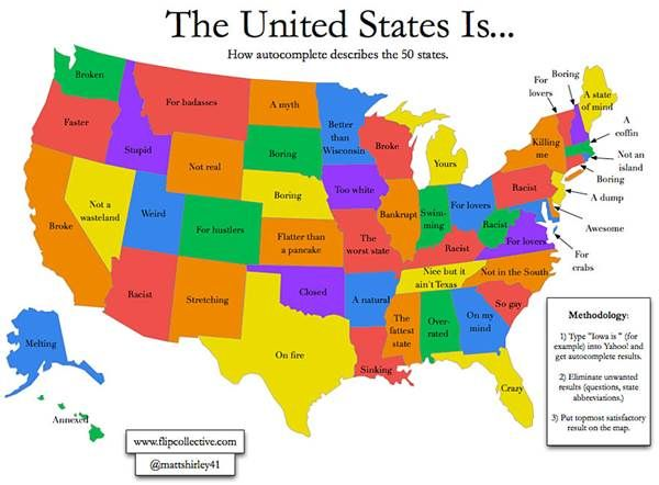 12 Hilarious Maps That Show What The Rest Of The Country Thinks About Utah