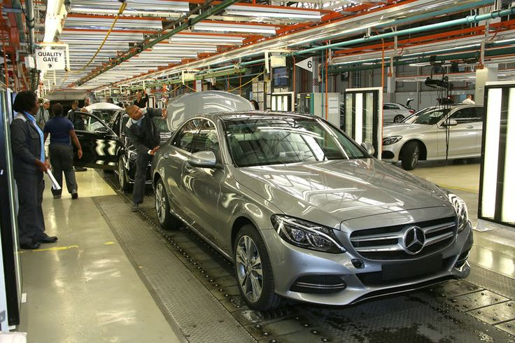 Mercedes-Benz starts production of new C-class in South Africa