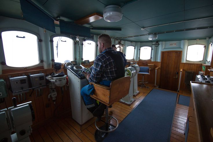 The bridge' control room onboard the Icebreaker Sampo © 2016 Worldly Nomads Travel Blog