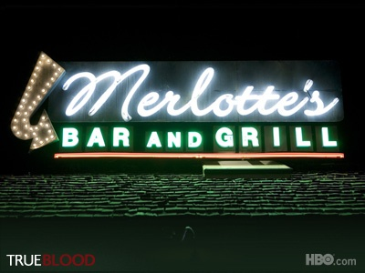 I'd eat there.... maybe spot Bill, Sookie, Lafayette, or Sam