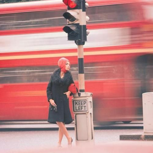 1960s London fashion shoot