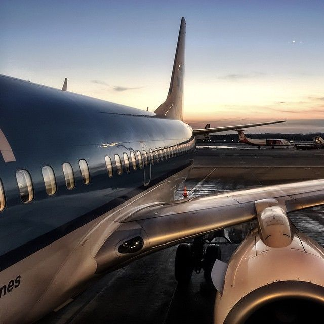 Home - the best place to be. Our CEO Daniel took this magical picture outside the plane after a trip to Germany.