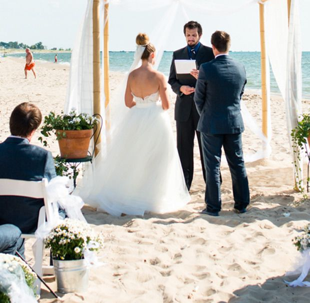 "Beach Wedding Ceremony Michigan: 74 Best Images About Saying ""I Do"" In The Grand Haven Area"