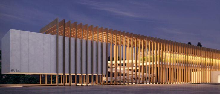 Concurso Pavilhão do Brasil na Expo Milão 2015 - Terceiro lugar | IAB Brasil