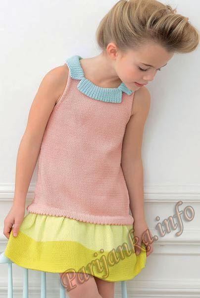 Платье (д) 01*106 Phildar №4080